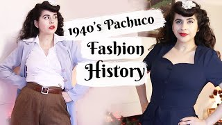 1940's Pachuca/Zoot Suit Fashion History & Trying The Styles!
