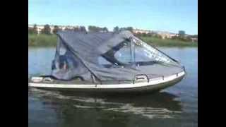Лодочные ходовые тенты для надувных лодок