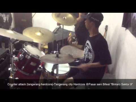 Counter Attack ( Tangerang hardcore) - Tangerang city hardcore @PSB 'bintaro sektor 9'.mov