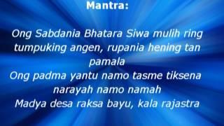 Mantra Bali - Mantra Menyatukan Kekuatan Nawa Sanga