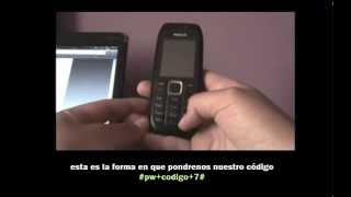 Como  Desbloquear / Liberar Celular Nokia 1616 Movistar