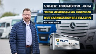VARTA ProMotive AGM-Batterien, mit den führenden NFZ-Herstellern entwickelt | VARTA Flottenprogramm