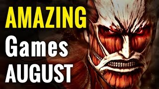 10 Amazing Games for August 2016 | whatoplay monthly