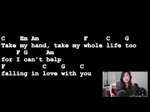 Cant help falling in love with you   elvis presley   lyrics and chords  guitar tutorial