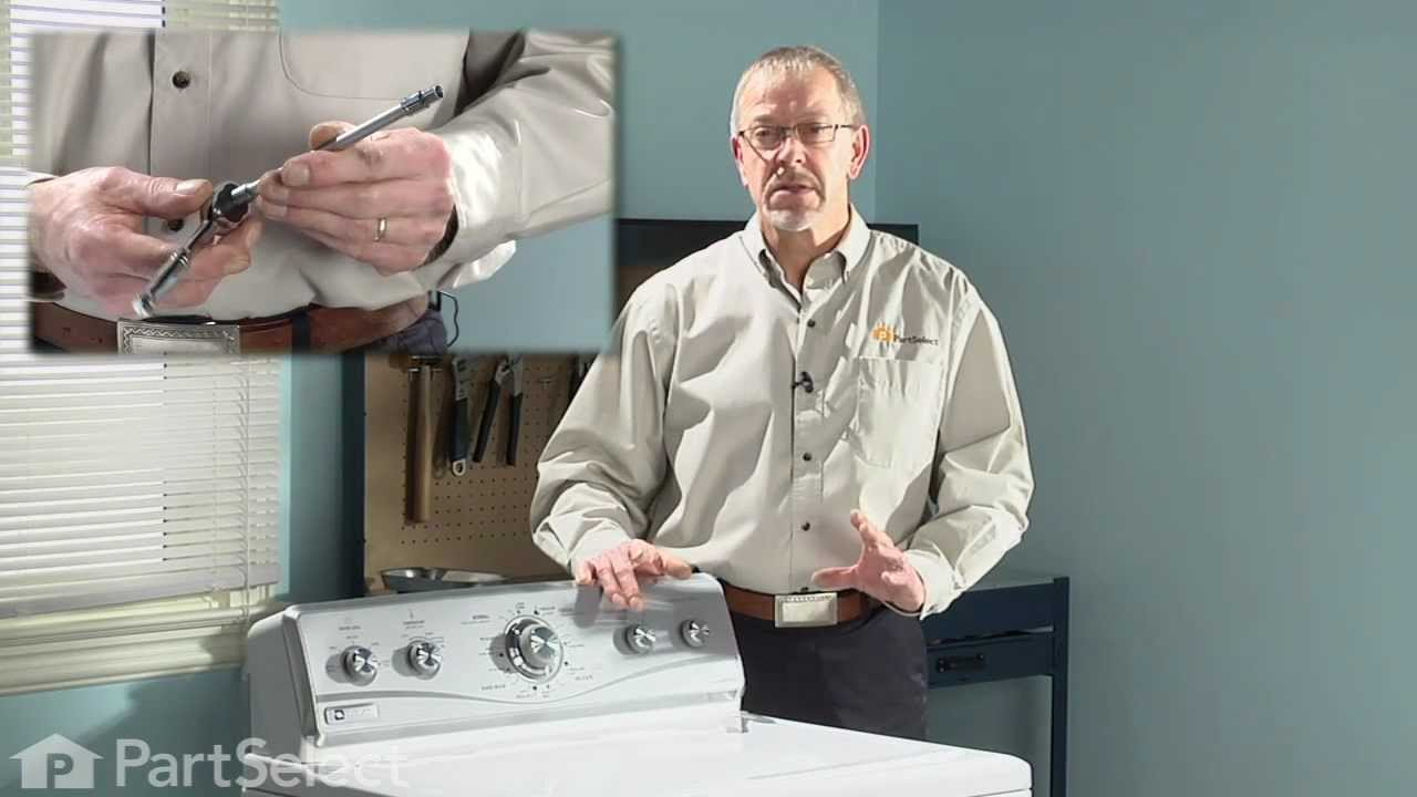 Replacing your Whirlpool Washer Agitator Directional Cogs