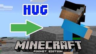 How To Hug In MCPE!? - MCPE Trick