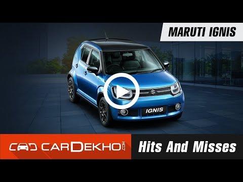 Maruti Ignis Hits & Misses