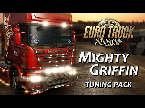 euro truck simulator 2 mighty griffin tuning pack steam. Black Bedroom Furniture Sets. Home Design Ideas