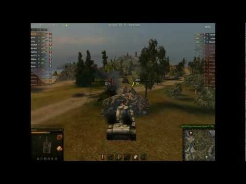 Let's Play World of Tanks - Episode 1 - KV-3 in the Mines