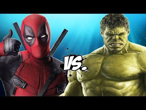 DEADPOOL vs HULK - Epic Battle