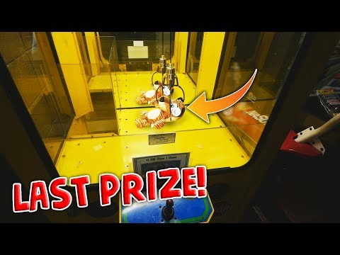 We Won EVERY PRIZE Inside A Claw Machine!!!! || Arcade Games