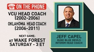 Gottlieb: Jeff Capel talks Duke and father