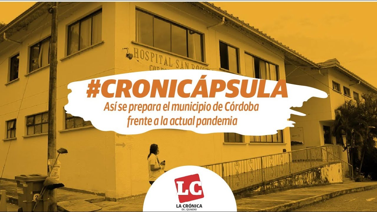 En el municipio de Córdoba se inauguró arco de desinfección en hospital y hogar del anciano
