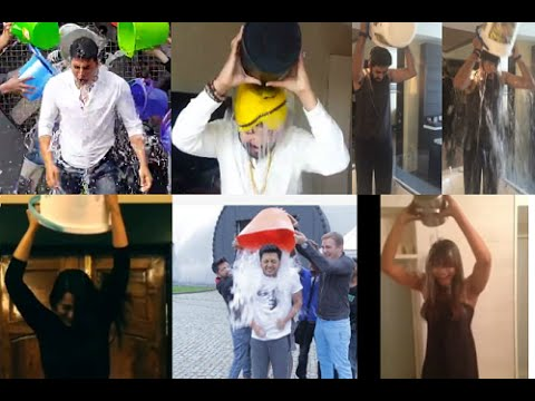 Bollywood Stars take the ALS Ice Bucket Challenge