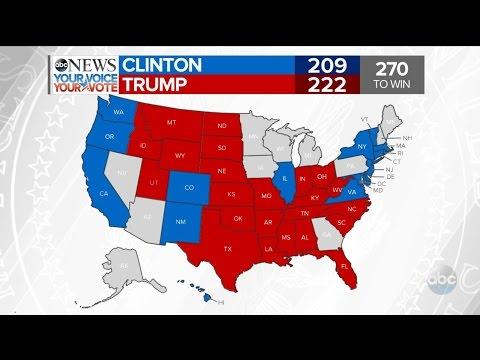 Trump Wins Florida, Clinton Wins Washington   2016 Election Results