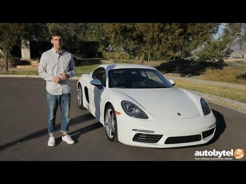 2018 Porsche 718 Cayman Test Drive Video