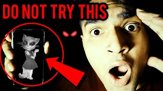 DO NOT TALK To Angela at 3 AM Challenge | Ankur Kashyap Vlogs