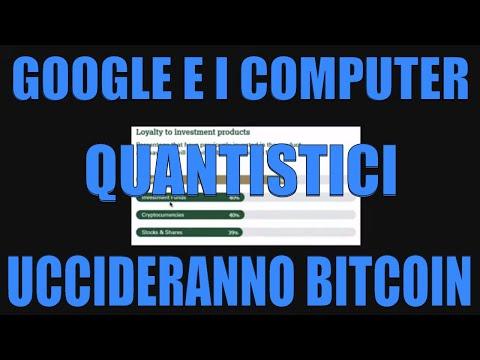 Meglio Bitcoin o Oro? Bitcoin Verrà Ucciso da Google e dai Computer Quantistici?