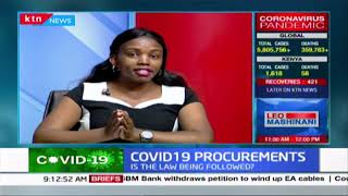 COVID-19 Procurements: Is the law being followed? Discussion with Mumbi Mugo, ICJ Program officer
