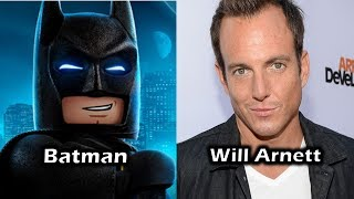 Characters and Voice Actors - The Lego Batman Movie