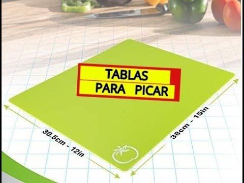 Tablas para Picar (Verduras, frutas, carnes, pollo y pescado)