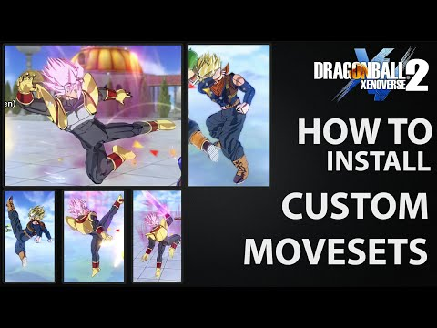 How to install | Custom Movesets for Cac (Easiest Way!) | Dragon