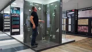 Дверь в нишу Riho Scandic Soft Q104 160
