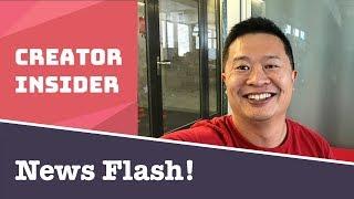 YouTube News Flash 3!