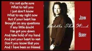 John Berry - Here In My Heart ( + lyrics 1990)