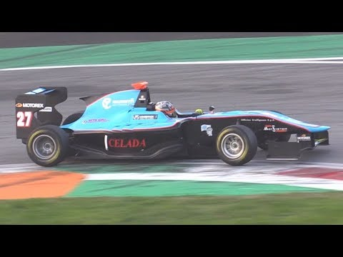 Formula Cars Testing at Monza Circuit-GP3s,Formula 4,Formula Renault & More