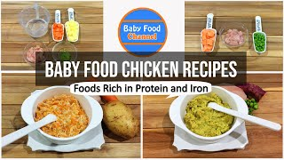 Baby Food Chicken - Baby Food Homemade