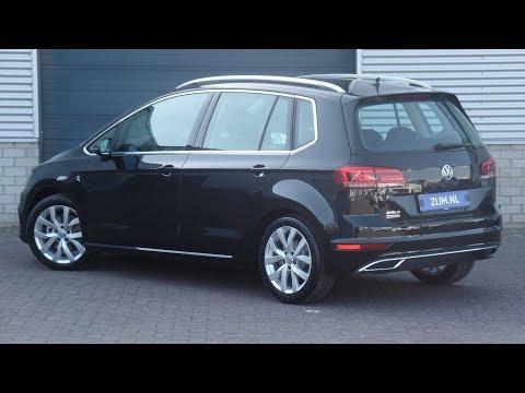 Volkswagen NEW Sportsvan 2018 Highline Deep Black Pearl 17inch Karlskoga walk around & Inside detail