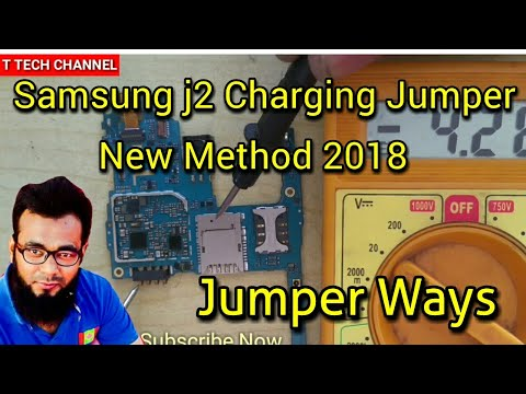 Samsung j2 charging Push Step BY Step solution - Youtube