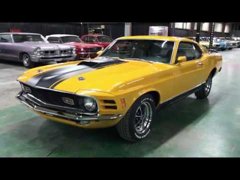 Video of '70 Mustang Mach 1 - QK0Z