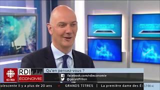 Entrevue à RDI économie (Canada) pour parler de la montée des populismes en Europe