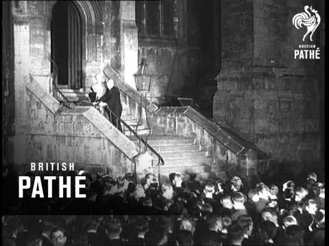 The Retirement Of Eton's Head Master (1933)