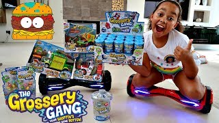 HOVERBOARD CHALLENGE! New Grossery Gang Putrid Power Gross Surprise Blind Bags & Playsets