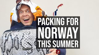 What To Wear and What To Pack Going to Norway for Summer holiday/yourway2norway
