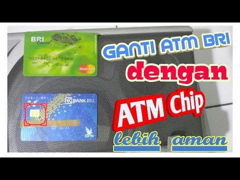 ATM chip BRI Terbaru dan Lebih Aman/ Inilah Cara dan Syaratnya