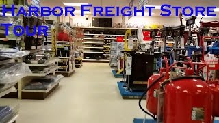 Harbor Freight Tools Store Tour
