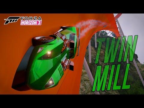 Forza horizon 3 - twin mill free roam hot wheels map exploring