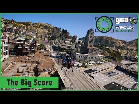 GTA V - The Big Score - Obvious (Prep + Heist) - смотреть