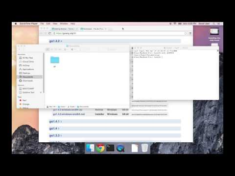 How to Install Golang on Mac OS X
