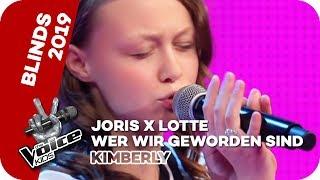 Joris x Lotte - Wer wir geworden sind (Kimberly) | Blind Auditions | The Voice Kids 2019 | SAT.1