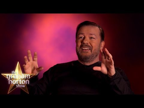 Ricky Gervais Thinks He's the Co-Host on The Graham Norton Show