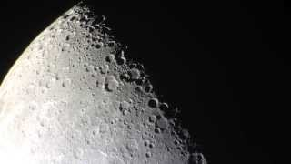 Lunar X / Purbach Cross Captured with an iPhone5 and homemade telescope and adapter