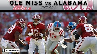 Ole Miss vs. Alabama Highlights: No.2 Bama Routs Ole Miss Through The Air | CBS Sports HQ