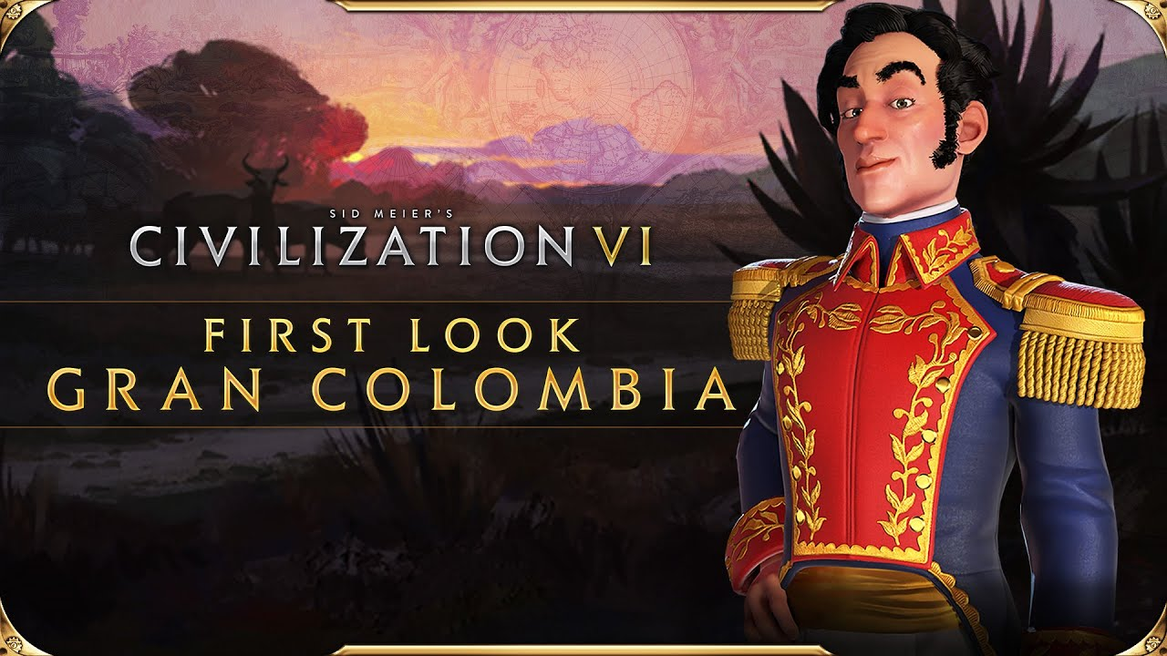 Трейлер игры Sid Meier's Civilization 6: Maya & Gran Colombia Pack