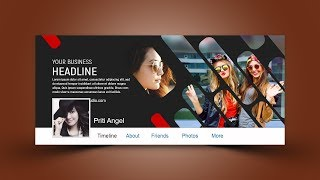 Stylish Facebook Cover Design   Photoshop Tutorial