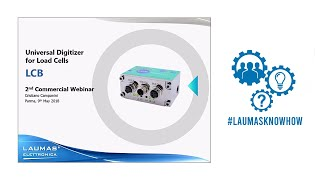 Commercial Webinar LCB Universal Digitizer for Load Cells